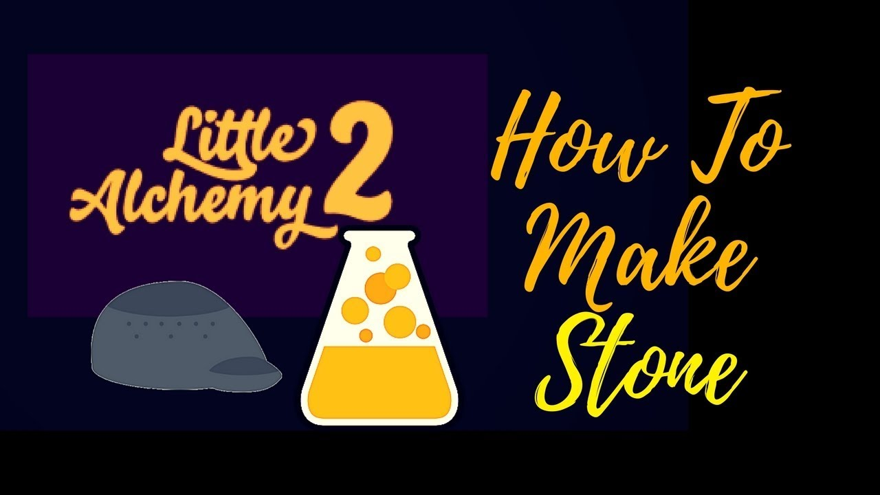 little alchemy how to make rock