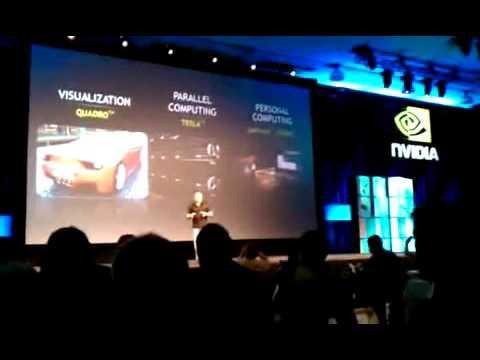 GTC 2010 Keynote Opening Statement Jen Sun Huang CEO of NVIDIA 上傳日期:2010年9月21日