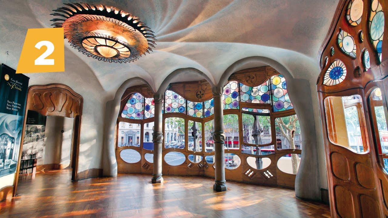 El interior de la Casa Batll diseo y representacin en la Barcelona burguesa del XIX  YouTube