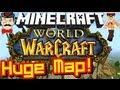Minecraft WORLD OF WARCRAFT Map! Full Scale Replica!