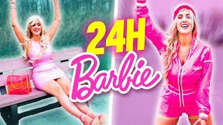 LIVING AS BARBIE FOR 24H - CHALLENGE | DENYZEE