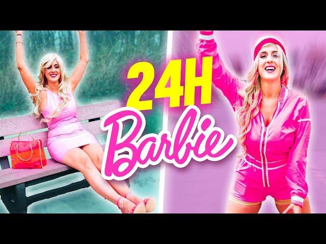 VIVRE COMME BARBIE PENDANT UNE JOURNÉE - 24H CHALLENGE | DENYZEE