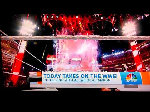 Seth Rollins on the Today Show. 3/30/15