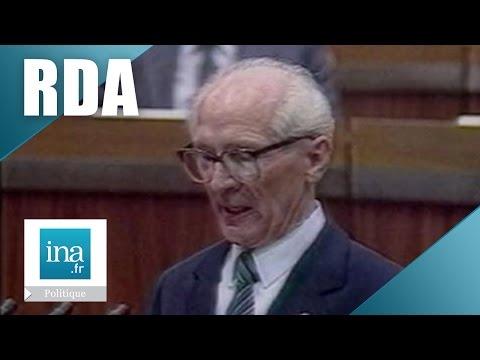 Erich Honecker quitte le pouvoir en RDA | Archive INA