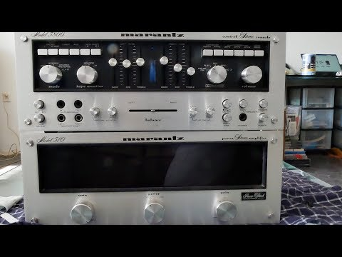 Marantz Model 510 & Marantz Model 3800 ...real Vintage Stereo Monsters