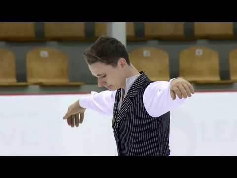 Josh BROWN GBR | Men Free Skating RIGA 2017
