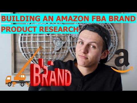 Product Research for Amazon FBA - EASIEST Way to Create a Brand on Amazon