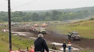 """Автокросс Кораблино Зил 130""""Танки грязи не боятся"""""""