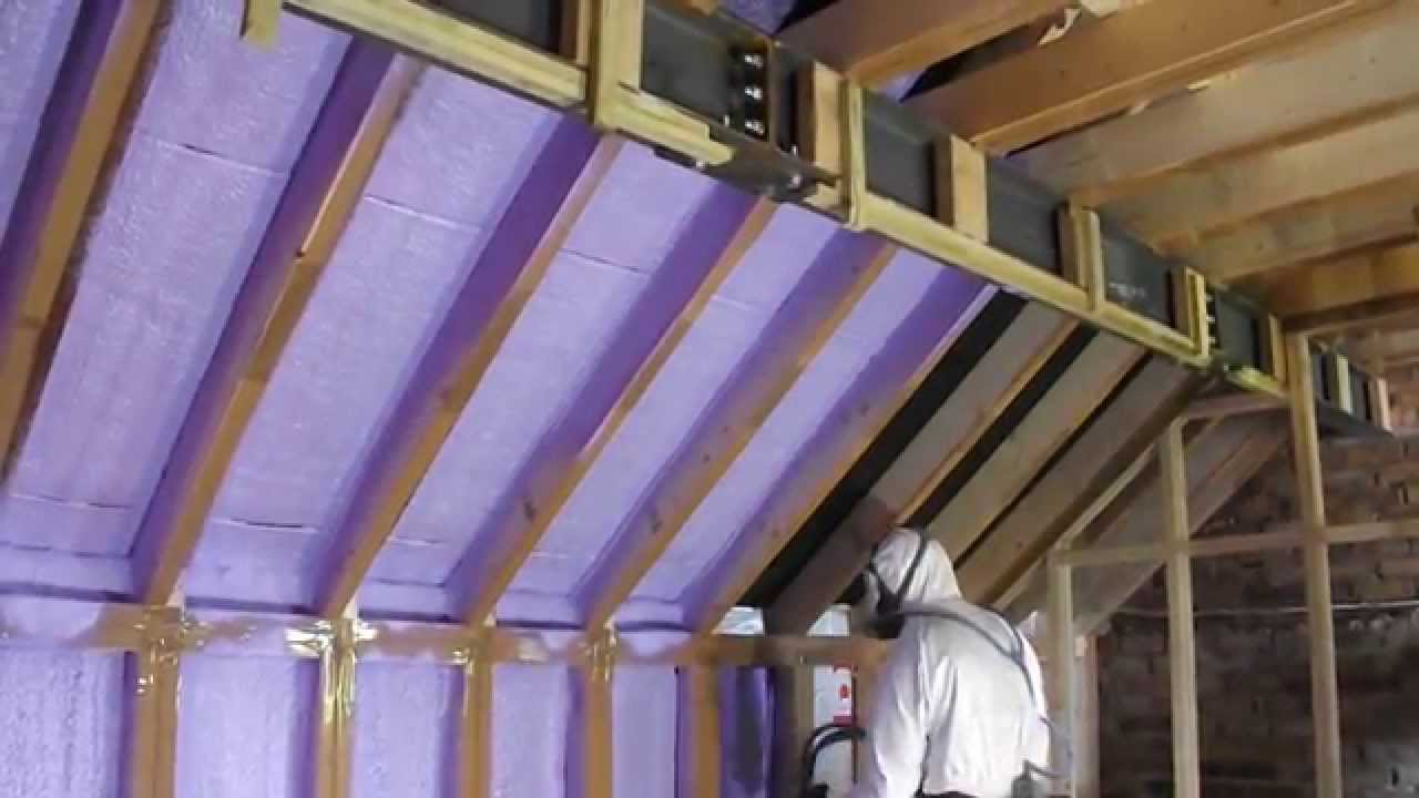Kenilworth Loft Conversion Spray Insulated With Basf