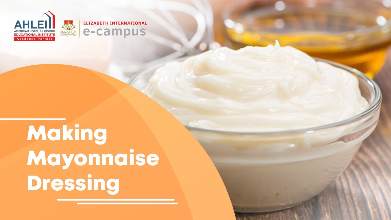 Making Mayonnaise Dressing - YouTube