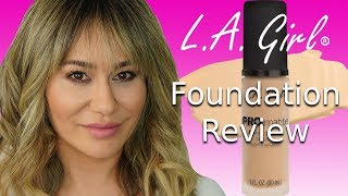 LA Girl Pro Matte Foundation Review - Why You NEED This Foundation!