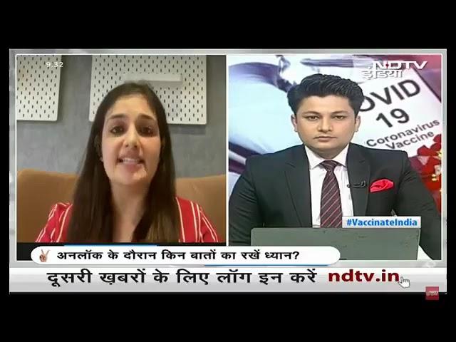 How to prevent corona? Dr. Shruti Malik on NDTV India