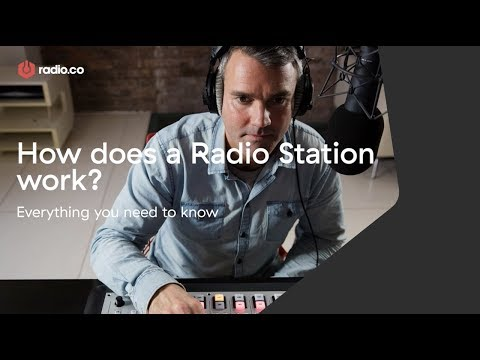 How Does A Radio Station Work? AM/FM & Online Explained