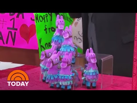 See New Fortnite Toys Based On The Wildly Popular Game | TODAY