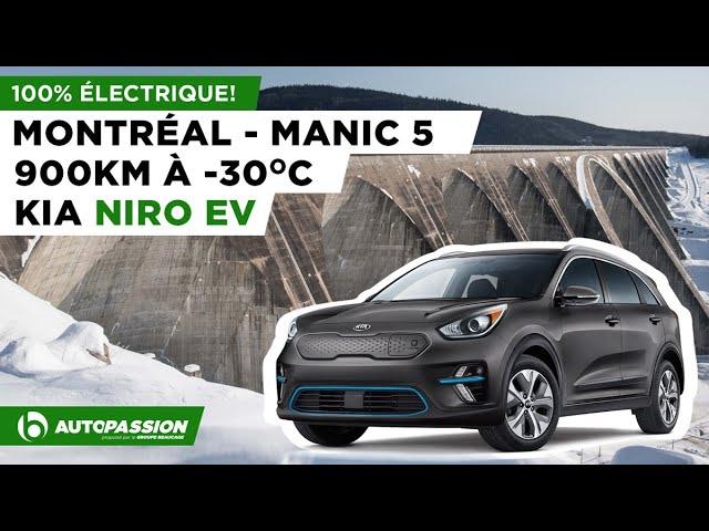 KIA Niro Électrique | Montréal-Manic-5 En Moins D'une Journée l'Hiver, C'est Possible?