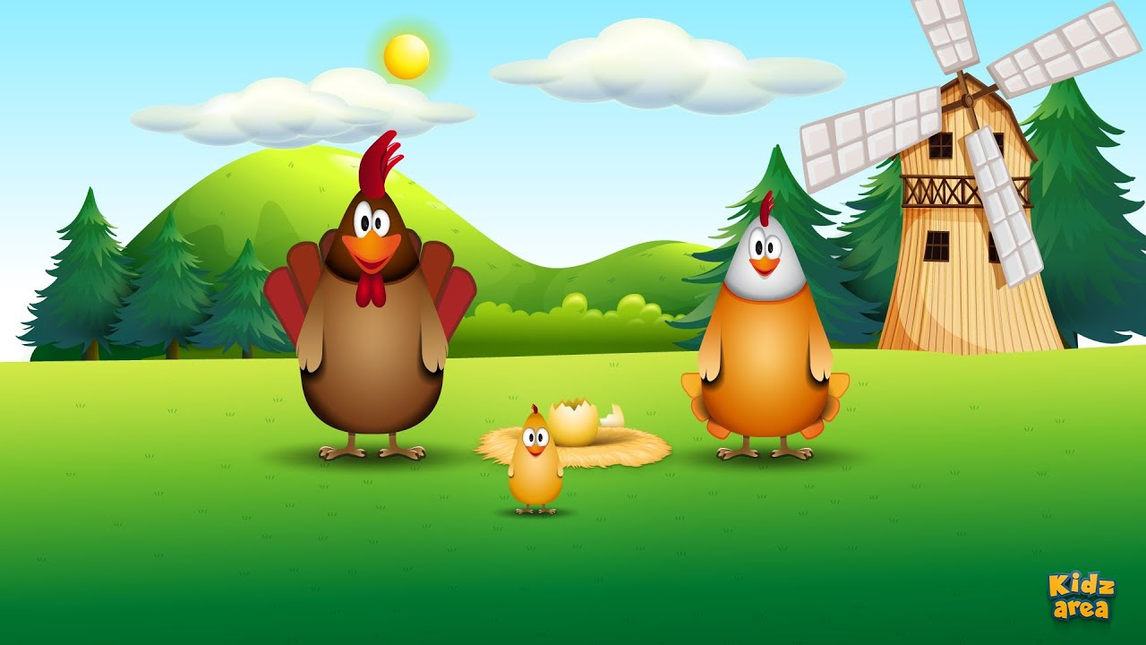 Chicken Family - funny song for kids