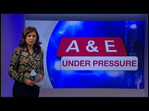 NHS Crisis: Junior Doctor Adrian Harrop at Scarborough Hospital BBC Look North, Jan 2 2018