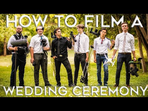 How To Film a Wedding Ceremony | Job Shadow