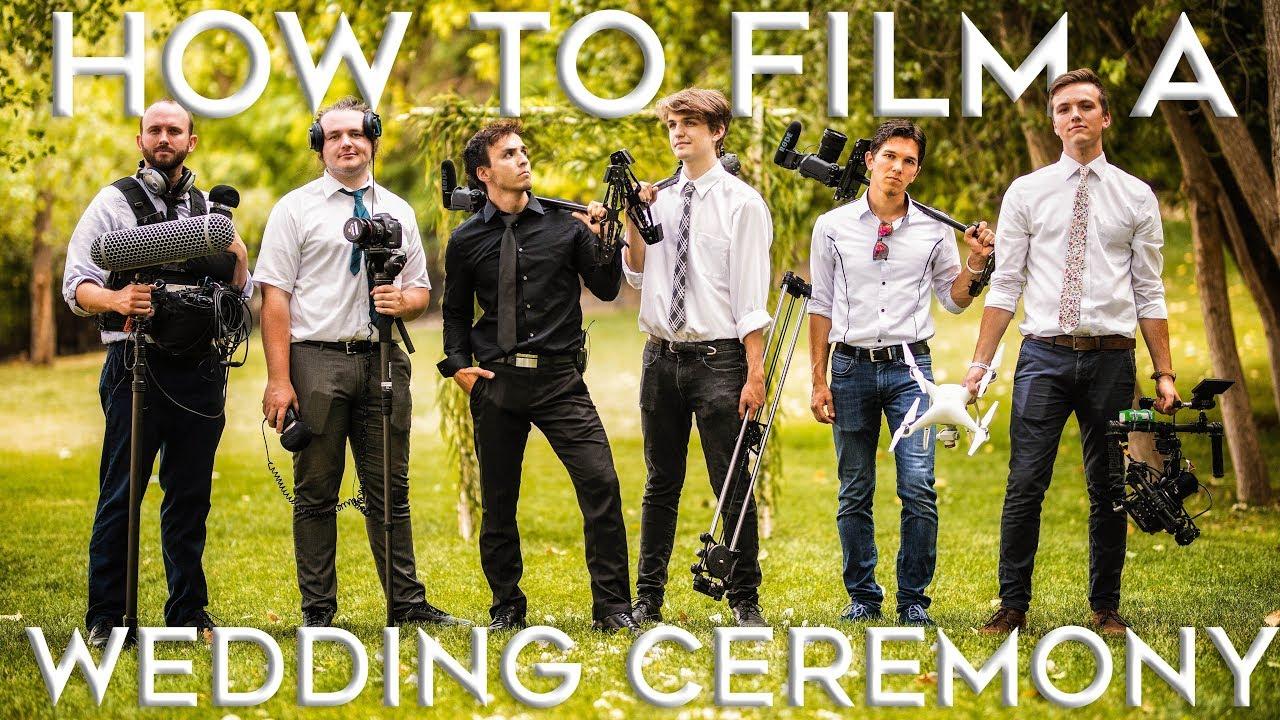 How To Film A Wedding Ceremony Job Shadow