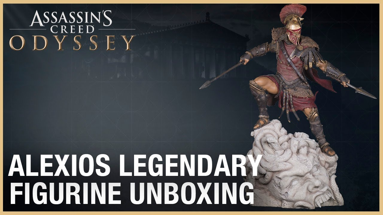 Assassin S Creed Odyssey The Alexios Legendary Figurine Unboxing