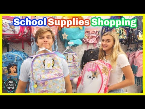 Back to School Shopping! School Supplies Haul!