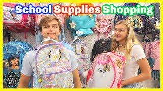 BACK TO SCHOOL SHOPPING! SCHOOL SUPPLIES HAUL!!