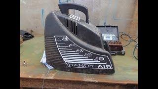Компрессор Fubag HANDY AIR OL 195. Обзор конструкции.