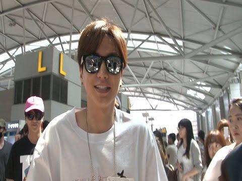 SSTV 영상 슈퍼주니어Super Junior, 돋보이는 '캐주얼 룩' 공항서 '시선 장악' 케이콘 2015