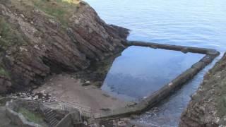 Old Baths Beach Peel, Isle of Man