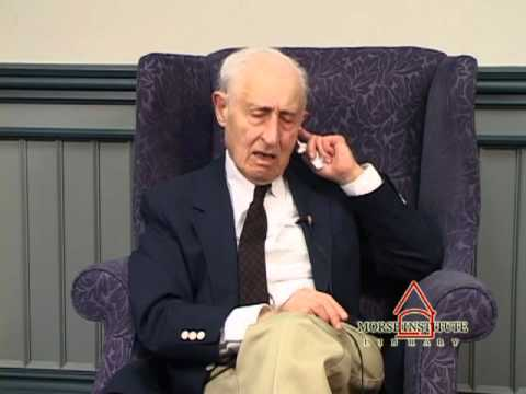 Goldstein World War II U.S. Army Natick Veterans Oral History Project YouTube sharing