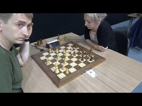 🇩🇪 Indian Defense Endgame: Grzegorz Gajewski - Elisabeth Paehtz, Blitz Chess