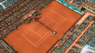 Rolland Garros à la maison sur Top Spin 3 !