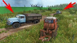 ОДНА ЛУЖА И МНОГО ПРОБЛЕМ! ЗИЛ 130 - FARMING SIMULATOR 2017