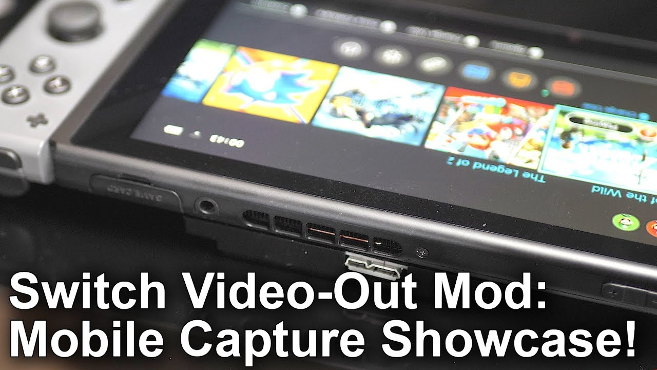 Ever Wondered How To Capture Video On Switch in Portable Mode
