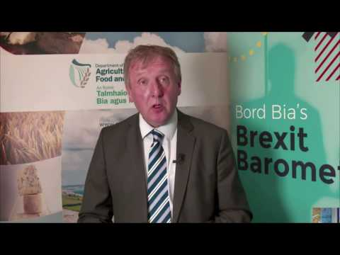Bord Bia Brexit Barometer Findings and Actions - Michael Creed TD, Minister for Agriculture, Food an