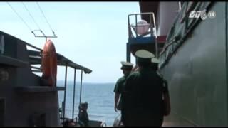 VTC14_Quảng Ngãi: Xử lý 2 tàu nước ngoài neo đậu trái phép_11.06.2013