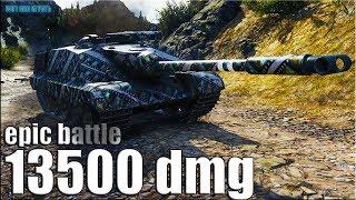 ЭПИК ЛРНщик 13к урона World of Tanks