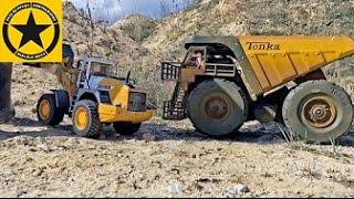 BRUDER Toys Mining TRUCKS MEGA Construction LONG PLAY + bonus MOTORSTORM SPECIAL