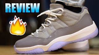 "Jordan 11 lows "" cool greys"" review"