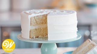 How To Make A Classic Yellow Cake   Wilton