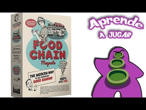 Food Chain Magnate - Español - Reseña Juego de mesa - Preparación y cómo se juega