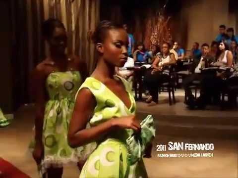 Highlights San Fernando Fashion Week Trinidad MEDIA LAUNCH 2011