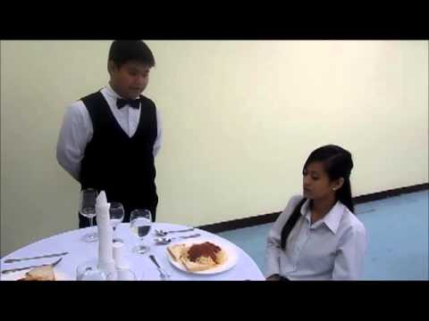 """MCL- HRM 103 - Restaurant Service Sequence Role Play - Group 2 - Gever """
