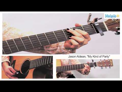 How to Play My Kind of Party by Jason Aldean on Guitar