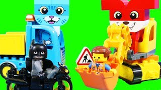 Lego Duplo Toys ! Lego Movie 2 And Disney Cars Lightning McQueen Team Up