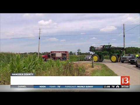 Teen killed in Hancock County crash