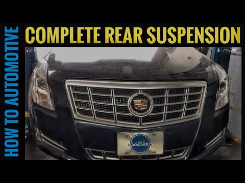 How to Replace the Rear Suspension Parts on a 2014 Cadillac XTS