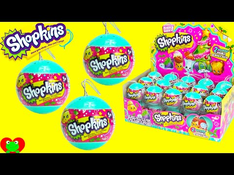 Shopkins Christmas Ornaments Season 3 Bauble Surprises