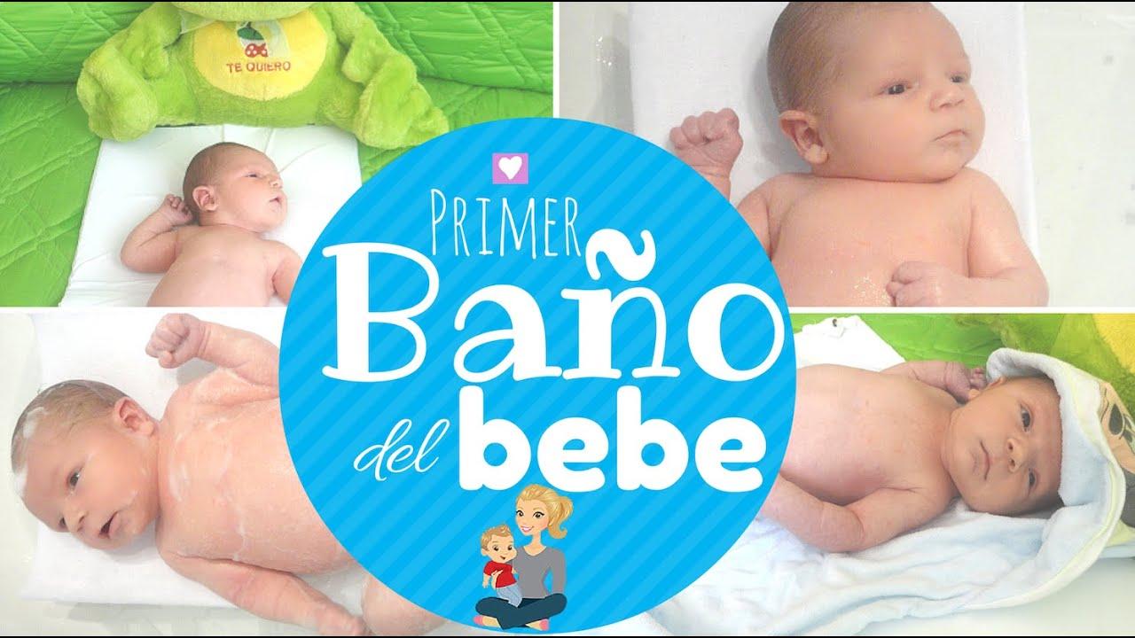 Baño Del Recien Nacido Normal: al BEBE recién nacido / 14 consejos primer BAÑO del BEBE – YouTube