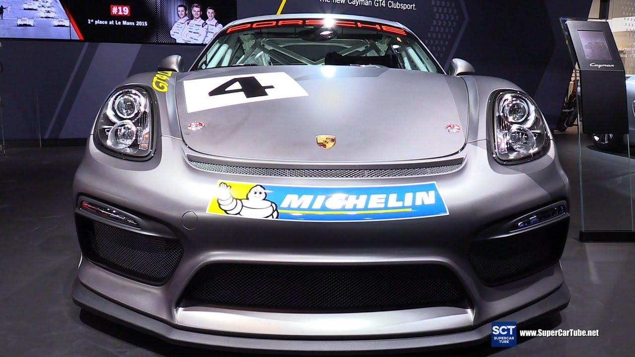 2017 porsche cayman gt4 clubsport exterior and interior walkaround 2015 la auto show - 2015 Porsche Cayman Gt4 Interior